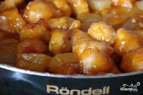 Курица в сладком соусе - фото шаг 4
