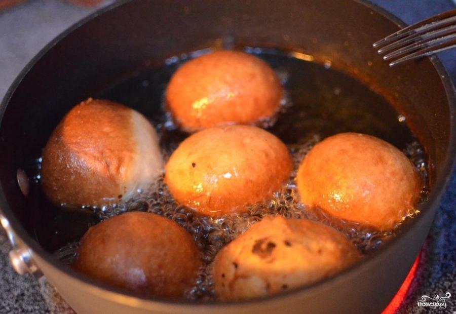 Русские пончики - фото шаг 13