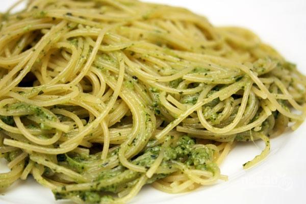 Спагетти с соусом песто - фото шаг 5