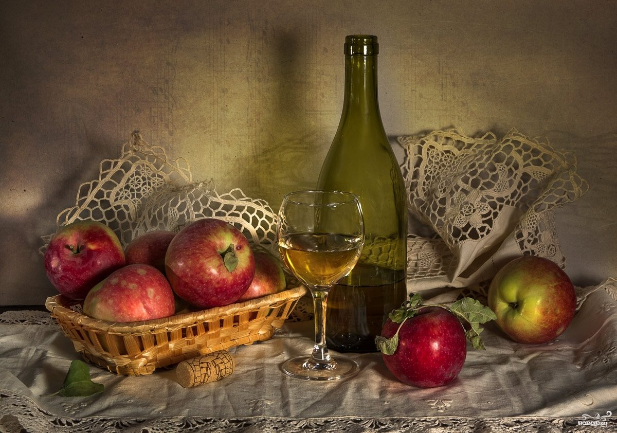 Рецепт Наливка из яблок