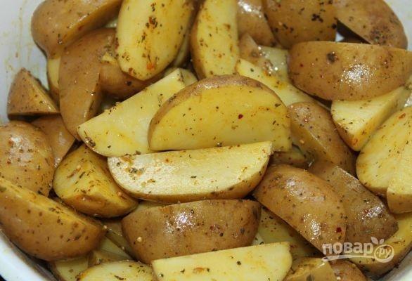 Деревенская картошка - фото шаг 3