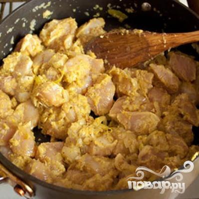 Простое карри из курицы - фото шаг 5