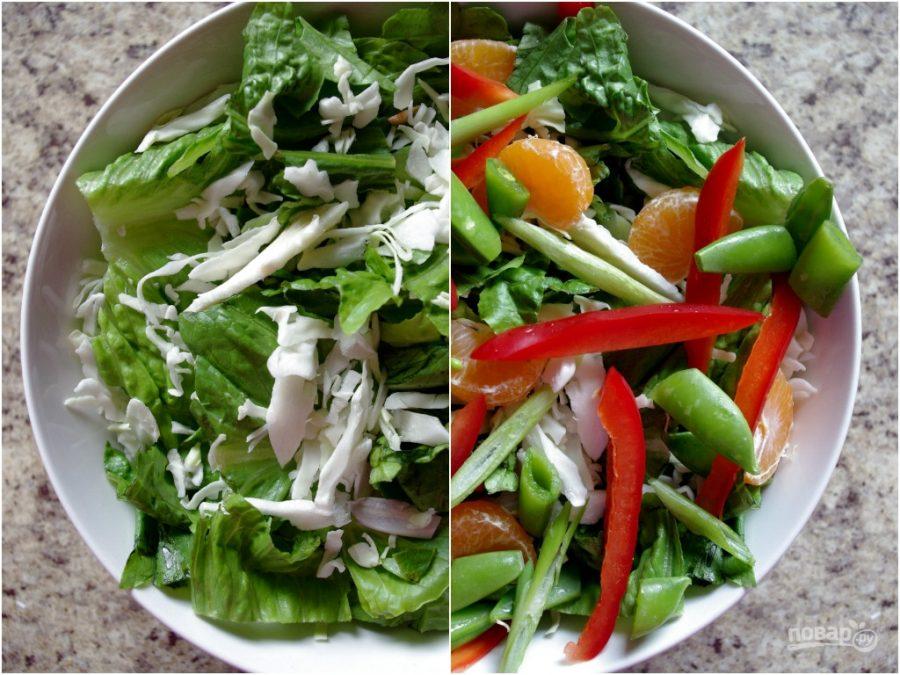 Салат с грудкой рецепт с пошаговый