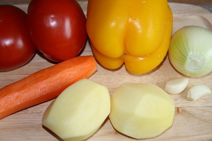 Суп из баранины с фасолью - фото шаг 2