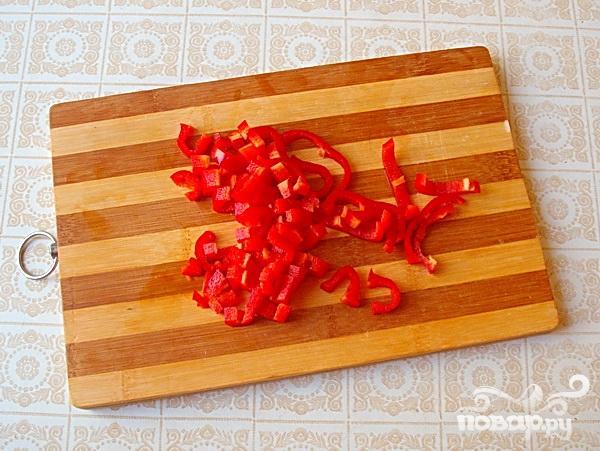 Салат с кольраби и корнем петрушки - фото шаг 4
