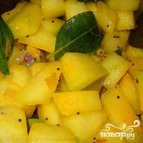 Блюдо из сладкой тыквы - фото шаг 4