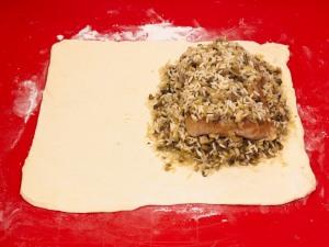 Мясо в слоеном тесте - фото шаг 8