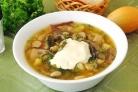 Диетический фасолевый суп