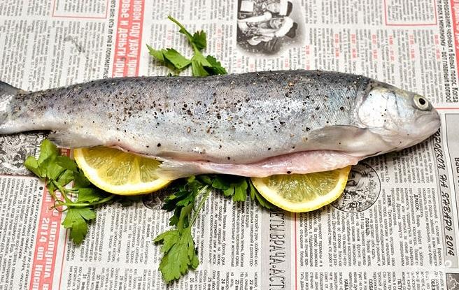 Рыба на гриле - фото шаг 4
