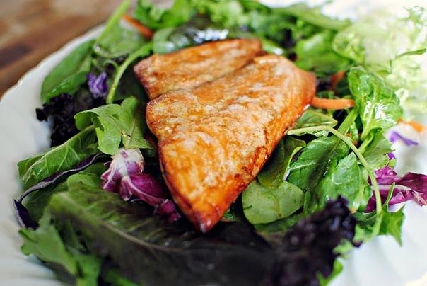Салат с апельсиновым соусом - фото шаг 8