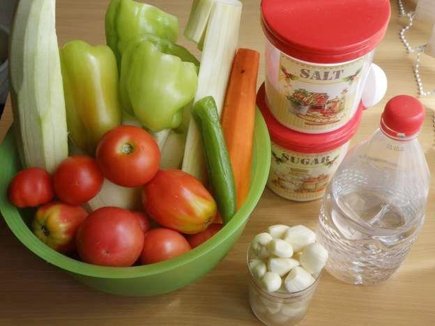 Рецепт Кабачок по-белорусски