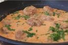 Очень нежные тефтели в томатно-сметанном соусе