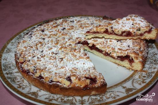 Рецепт Пирог с земляникой