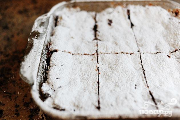 Шоколадные пирожные с орехами - фото шаг 6