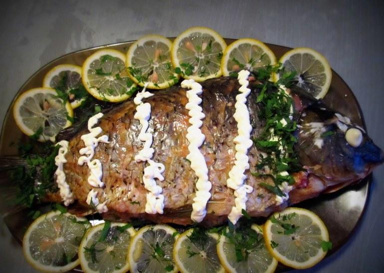 тунец рецепты в духовке целиком