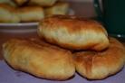 Пирожки на сухих дрожжах