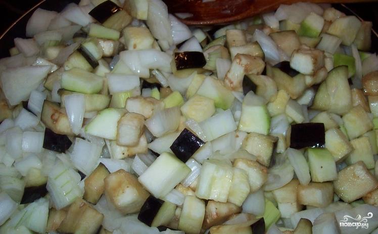Овощи под сырным соусом - фото шаг 1