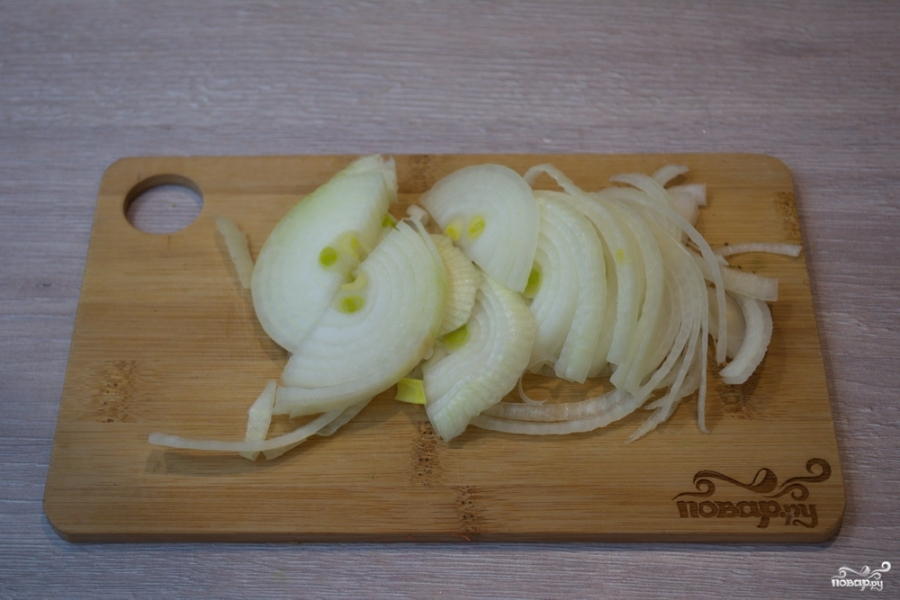 Рисовая лапша с овощами - фото шаг 4