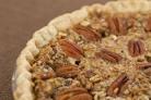 Английский пирог с орехами и карамелью
