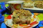 Овсяное пирожное
