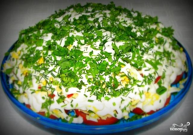 Салат по-татарски - фото шаг 6