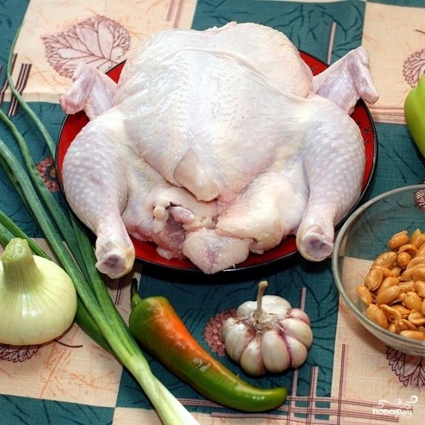 Рецепт Курица с арахисом