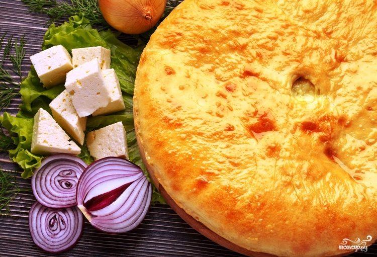 осетинский пирог с курицей рецепт с фото