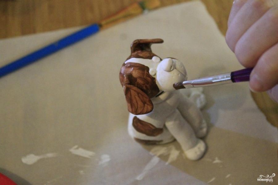 Торт в виде животного  - фото шаг 5