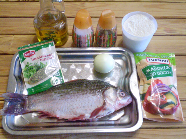 Рецепт Жареная рыба в маринаде