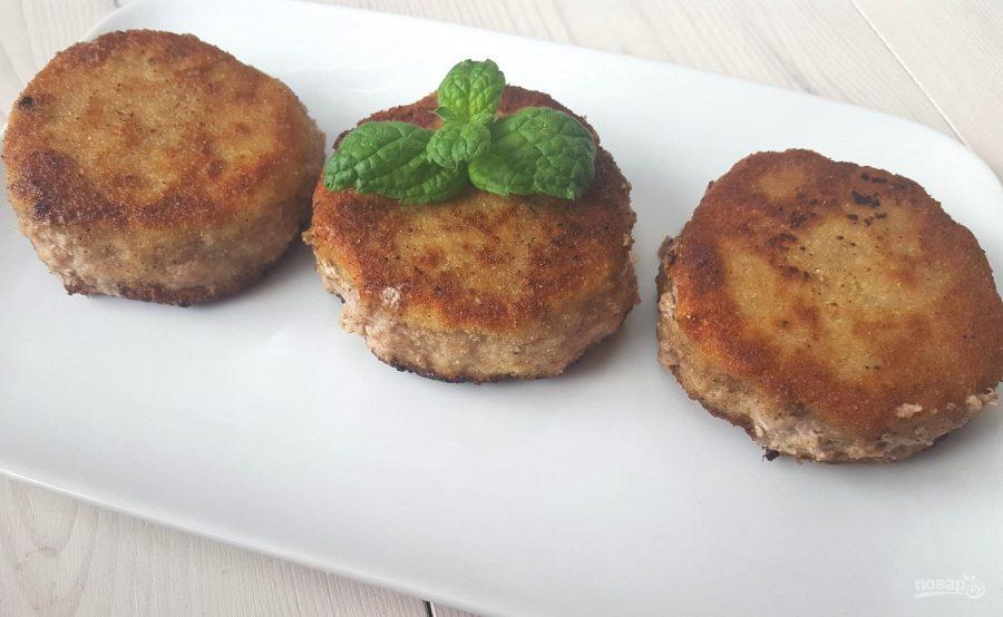 Котлеты из свиного фарша - пошаговый рецепт Вкусные Рецепты 32