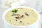 Суп грибной с плавленым сыром