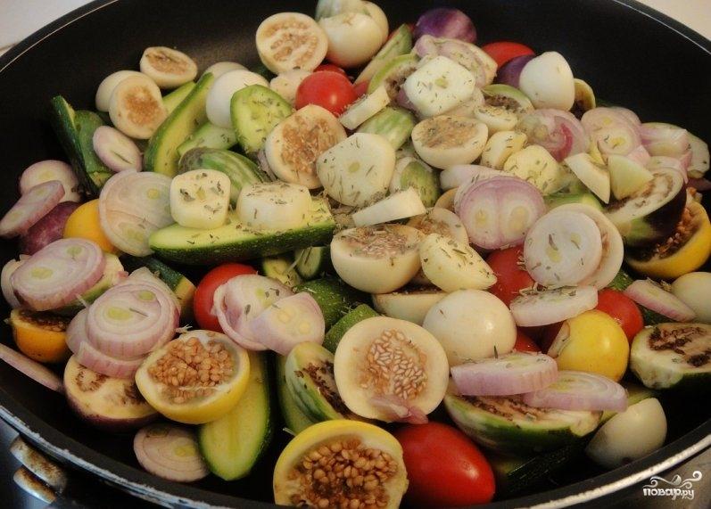 Диетическое овощное рагу - фото шаг 3