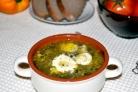 Суп из щавеля консервированного