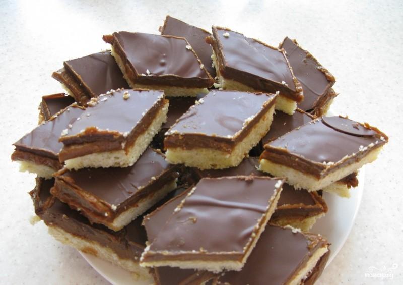 Торт твикс в домашних условиях рецепт с пошагово