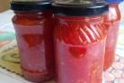 Аджика из красной смородины на зиму