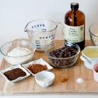 Рецепт Овсяное печенье с кофе и шоколадом