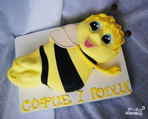 """Торт """"Пчелка Майя"""""""