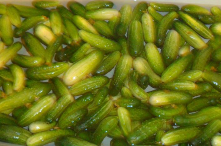 Рецепт Маринованные огурцы на зиму