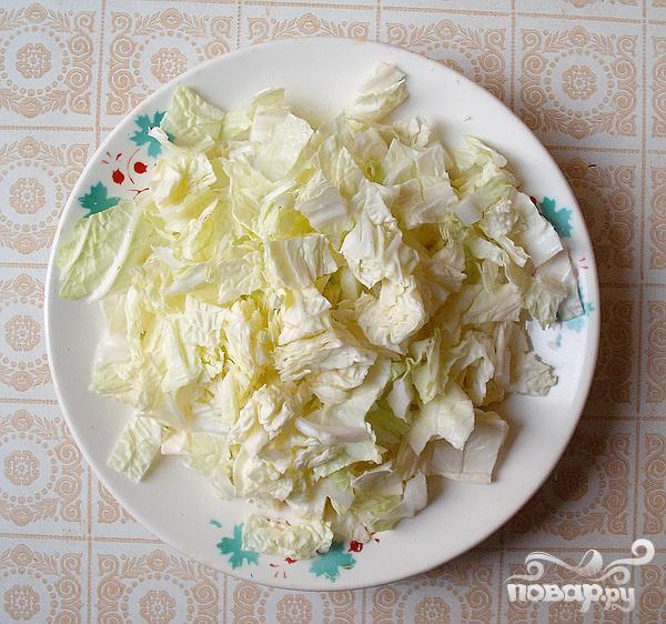 Греческий салат на Новый год - фото шаг 1