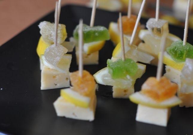 Канапе с сыром и оливками - фото шаг 3