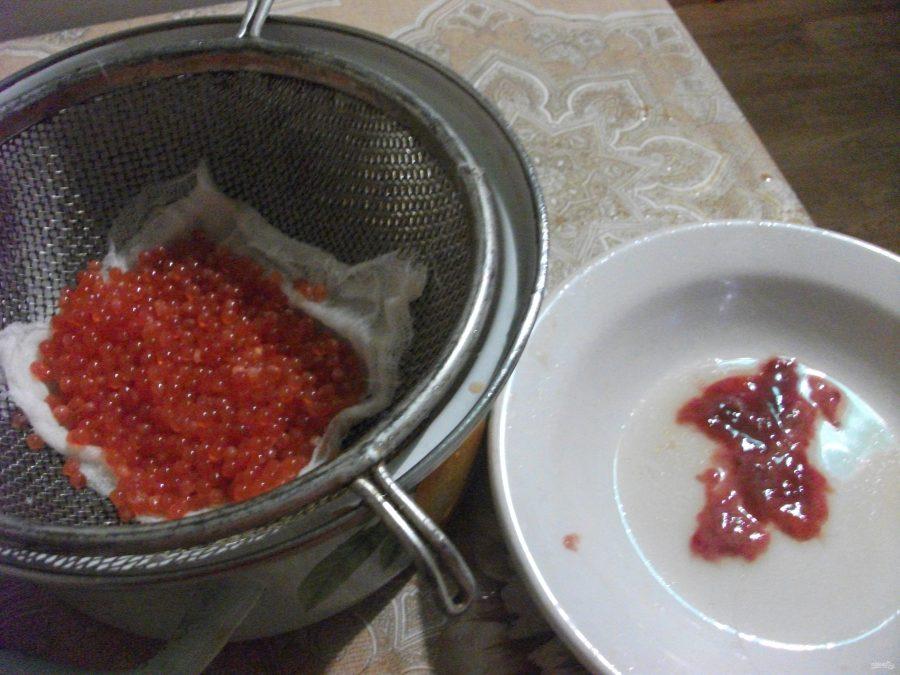 Засолка красной икры в домашних условиях рецепт 146