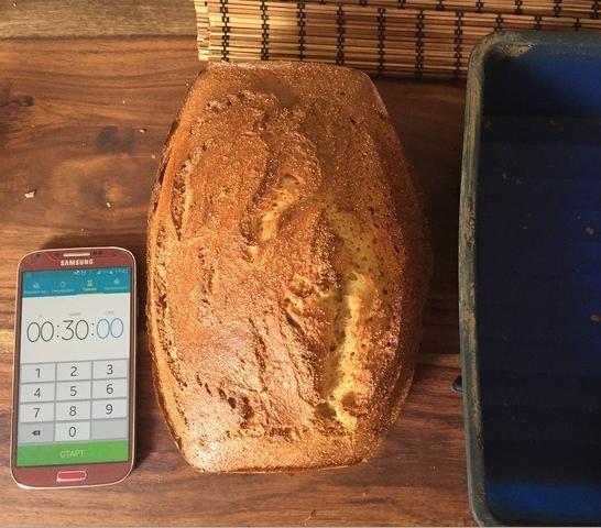 Амарантовый хлеб - фото шаг 4