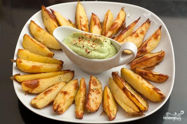 Рецепт Печеный картофель в мультиварке