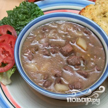 Суп с говядиной и зелёным чили - фото шаг 6