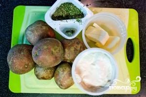 Картофель в сливочном соусе - фото шаг 1