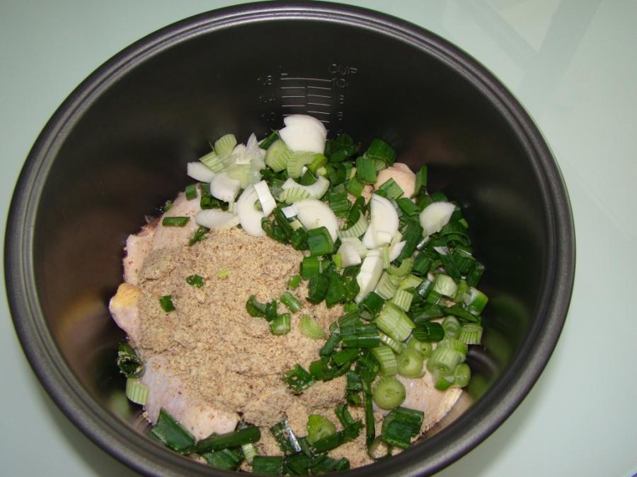 Рецепт Сациви из курицы в мультиварке