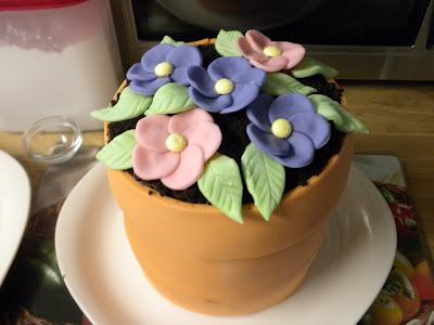"""Торт """"Цветок в горшке"""" - фото шаг 11"""