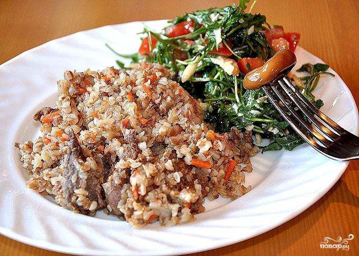 Салат с овощами и мясом рецепт 118