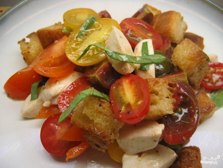 """Рецепт Овощной салат """"Для любимого"""""""