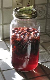 Вино из смородинового варенья - фото шаг 2